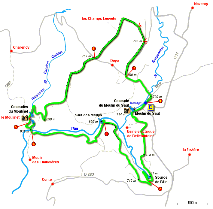 tour plan format